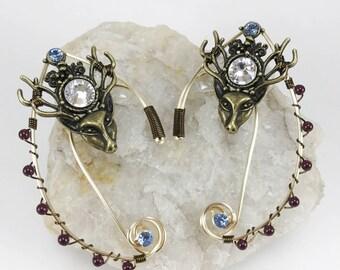 Elven Ear Cuffs - Elf Ears - Elven Ears - Fairy Ears - Deer Ears - Elf Costume - Fairy Costume - Ear Cuffs - Elf Ear - Cuffs Elven Costume