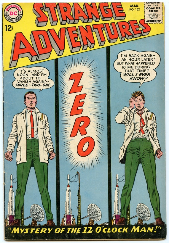 Strange Adventures 162 Mar 1964 VG+ (4.5)