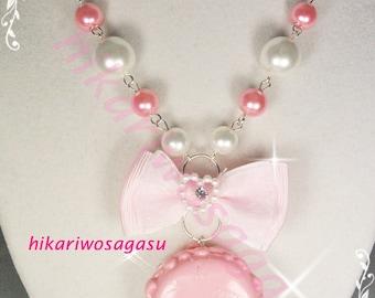 Macaron Pearl Necklaces