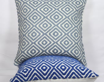 Royal blue geometric throw pillows texture 26 x 26 pillow cover 24x24 decorative grey pillow cases blue 18x18 christmas pillow cover 20x20
