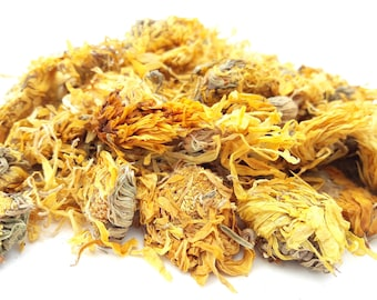Dried Calendula Flowers, 100g, Candle, Soap, Bath Bomb, Bath Tea, Soak, Herbal Soak, Tincture, Infusion, Dried Flowers, Marigold Flowers