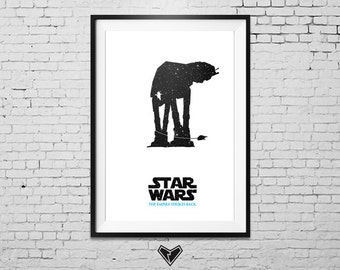 STAR WARS: The Empire Strikes Back - Movie Poster Print