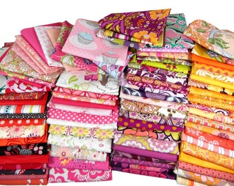 Fabric Scraps, Quilting Scrap Bundle, Quilt Scrap Bag, Bolt Ends, Fat Quarters, Fabric Remnants , Scrappy Quilt, 1 Pound, 3 Yards By Weight