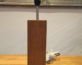 Beautiful Wooden Lamp Base