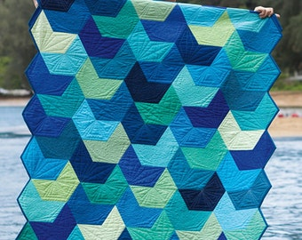 Splash Quilt Pattern by Julie Herman from Jaybird Quilts
