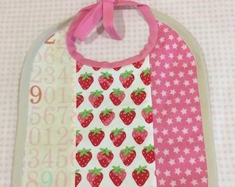 Counting Stars & Berries Baby Bib