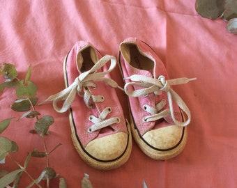 Kids vintage converse sneakers