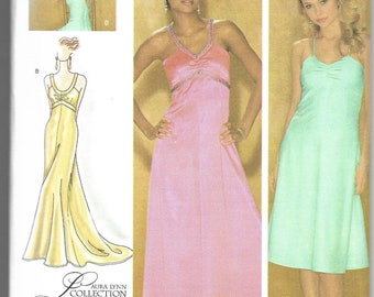 Simplicity   4215   Misses' / Miss Petite Special Occasion Dress in Three Lengths   Uncut and Factory Folded