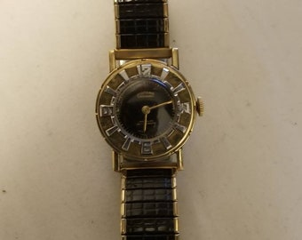 Rare Vintsge Gotham Gothamatic Bidynator Gold Filled Automatic Men's Watch