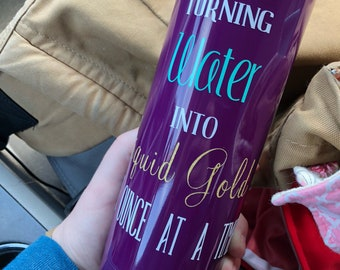 Liquid Gold Waterbottle