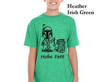 Hobo Fett Gildan Youth Softstyle 4.5 oz T-Shirts