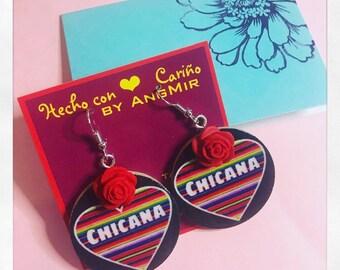 Chicana Earrings