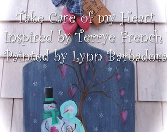 Take Care of my Heart by Lynn Barbadora, email pattern packet