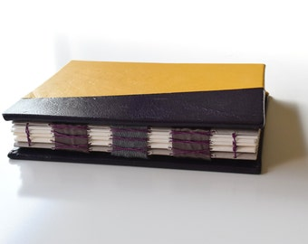 Plum and Yellow Sketchbook, Hardcover Sketchbook