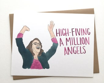 30 Rock Birthday Card// Liz Lemon Congratulations