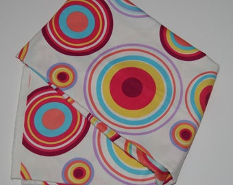 colors round thick cotton fabric