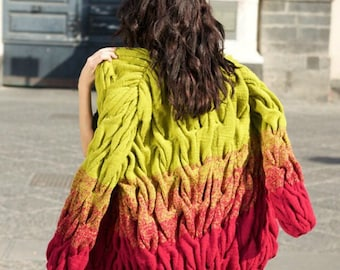 Knitted Cardigan Lalo Hand Made