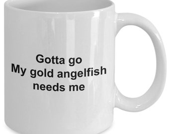 Angelfish coffee mug