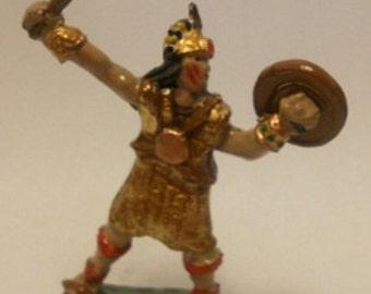 Toy Soldier Inca Warrior 70mm