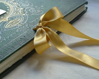 RIBBON OPTION A & B: Top Tie Ribbon Closure add on for Spellbinderie Journals and Guestbooks