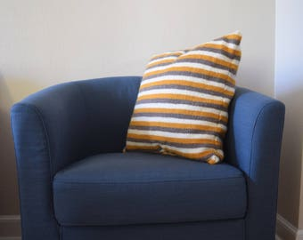 Tri Color Striped Pillow ONLY ONE AVAILABLE