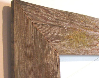 Barnwood Frame 5 x 7, Old Barn Wood, Recycled, RePurposed, Reclaimed, Vintage Farmhouse Wood Frames, Rustic, Primitive, Distressed, Antique!