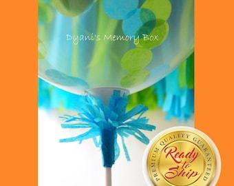 Stick and Cup Balloon Holder // Balloon Centerpiece // Balloon Sticks  //  Balloon Decorations