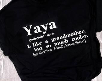 Yaya Defintion T-Shirt