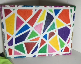 Colorful Geometric Painting