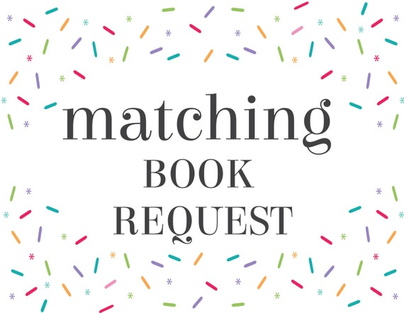 Matching Book Request