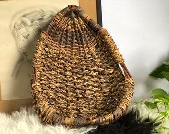 Vintage Wall Basket, Planter