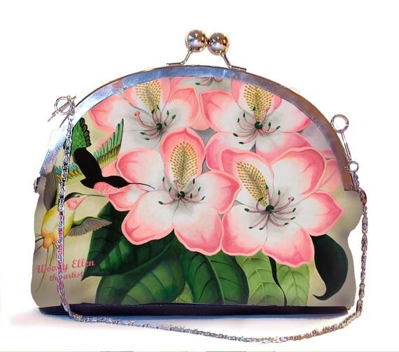 Retro clip purse, Idda, pink clutch bag, wedding clutch pistache pink, gift mom, bridesmaid clutch, christmas gifts, valentine gift ideas
