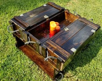 Repurposed Ammo Boxes