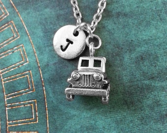 Truck Necklace SMALL Vintage Truck Jewelry Classic Truck Pendant Necklace Silver Truck Charm Necklace Car Jewelry Truck Gift Trucker Gift