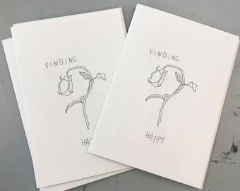 FINDING HAPPY zine