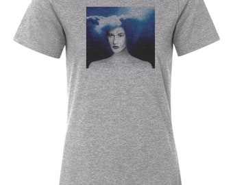 Jack White Custom Women's Relaxed Fit Tee T-Shirt New-Athletic Heather