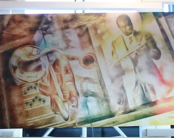 Saint Satchmo of New Orleans - Signed