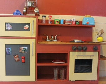 Wood Play Kitchen
