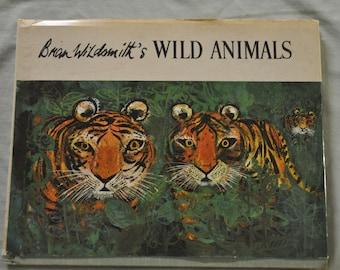 Wild Animals by Brian Wildsmith - Hardbound