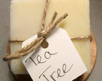 Tea Tree - Handmade Soap - Natural Soap - Essential Oil Soap - Cold Process Soap