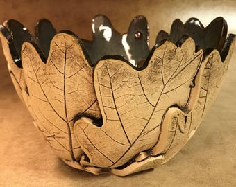 Medium Oak Leaf Bowl 136