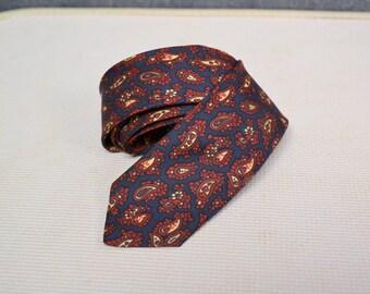 1960s Wembley Paisley Necktie