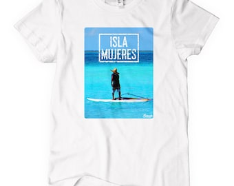 Women's Isla Mujeres Tee - S M L XL 2x - Ladies Isla Mujeres Mexico T-shirt - Mexican - 1 Color