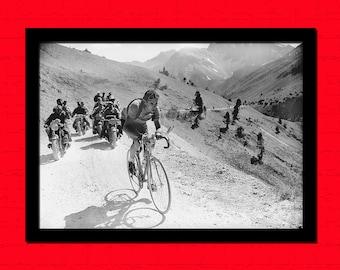 Get 1 Free Print - Tour De France Print - Cycling Poster Cycling Prints Photography Tour De France Poster