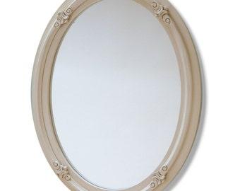 Round Mirror 91 x 66 cm (36 x 26 Inches)