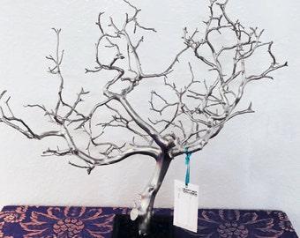 24 Natural Jewelry Tree Jewelry Organizer