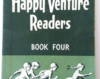 "Vintage Reader ""Happy Venture Readers"" Book Four Australian edition"