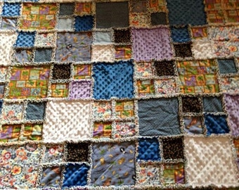 Ragtime Quilt, Flannel, Cuddly and Cozy