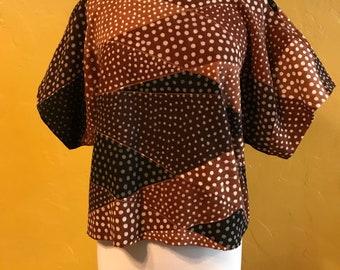 Mudcloth top, Ethnic clothing, Mudcloth Clothing, Tunic