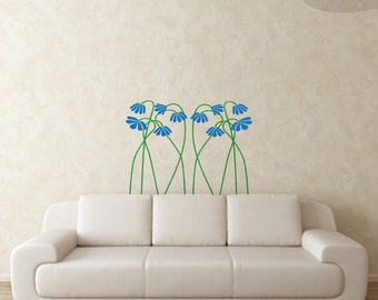 These Ain't Mama's Flowers - Vinyl Wall Decal